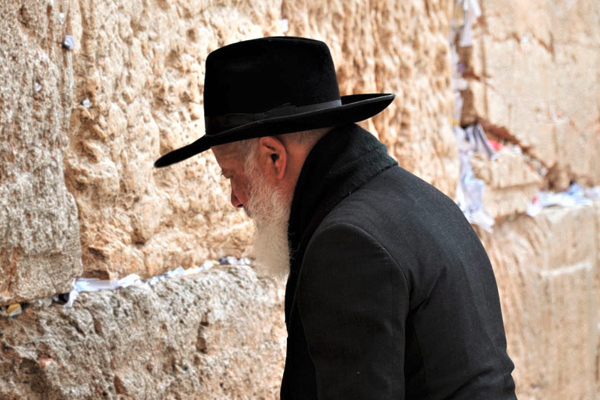 Beter an der Klagemauer